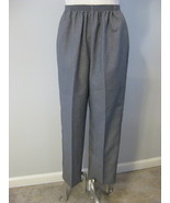 Alfred Dunner Proportioned Grey Slacks Size 14P - $21.00