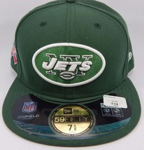 New York Jets New Era 59Fifty Size 7 5/8 Breast Cancer Awareness Fitted Cap Hat