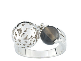Ring Cacharel with balls and flowers (CQR233F), Sterling Silver 0,925 - £38.74 GBP