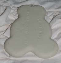 Pampered Chef Teddy Bear Cookie Mold 1991