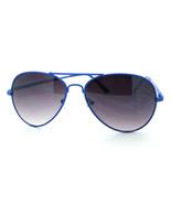 Neon Colorful Aviator Sunglasses for Men Women Classic Design Fun 6 Colors - $7.08+