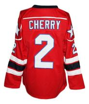 Custom Name # Rochester Americans Retro Hockey Jersey New Red Cherry #2 Any Size image 2