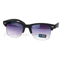 Quality Soft Matte Top Rim Unisex Sunglasses Spring Hinge - $9.95