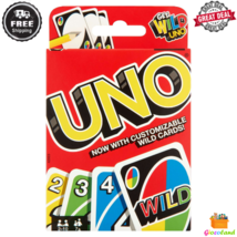 Uno Card Game Color And Number Matching Customizable Wild Cards 2 to 10 ... - $16.99