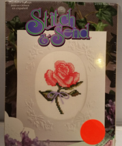 Stitch & Send Cross Stitch Greeting Card Kit - $9.95