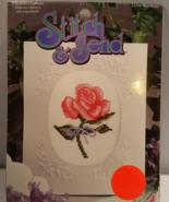 Stitch & Send Cross Stitch Greeting Card Kit - $9.95