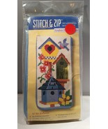 Stitch & Zip Preassembled Needlepoint Eyeglass ... - $9.95