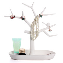 Multifunctional Tree Branch Jewelry Display Stand Earrings Bracelet Ring... - $9.94