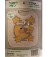 Stamped Cross Stitch Baby Bib Kit - $9.95