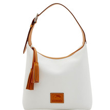 Dooney & Bourke White Patterson Leather Paige S... - $339.99