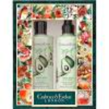 Crabtree & Evelyn Avacado Bath & Shower Gel & Body Lotion Gift Set 8.5 o... - $33.00