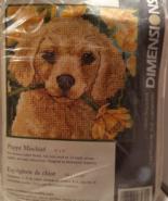 Dimensions Needlepoint Kit Puppy Mischief - $6.99