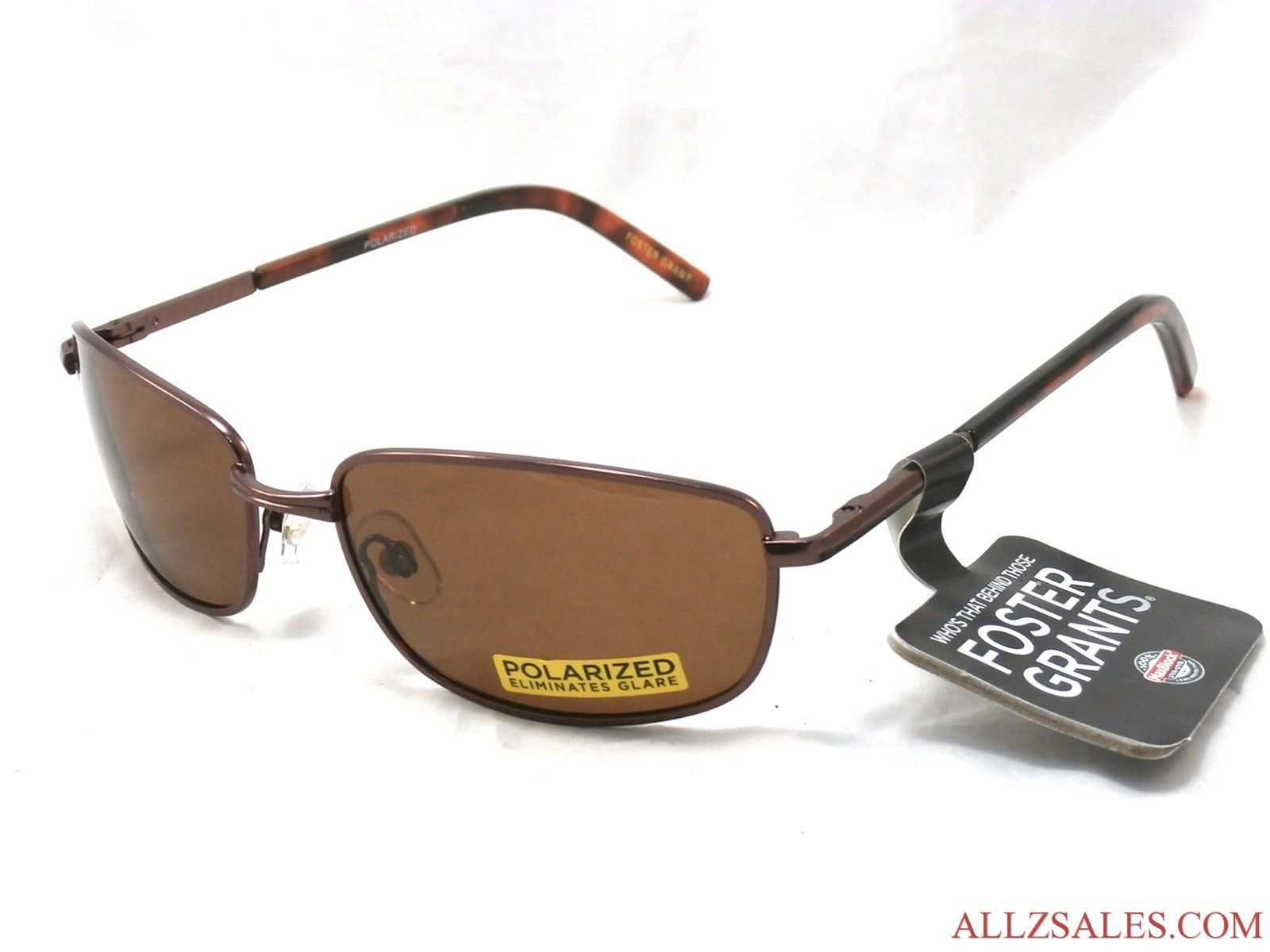 Primary image for Foster Grant VIRGINIA Unisex Polarized Metal Sunglasses New with Tag  #B5-30