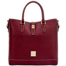 Dooney & Bourke Shelby Bordeaux Saffiano Leathe... - $449.99