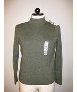 Karen Scott Cotton Long Sleeve Sweater Size L - $16.00