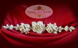 Sugarcraft Molds Polymer Clay Cake Border Mold Cake Decorating Tools mold 89  - $58.00