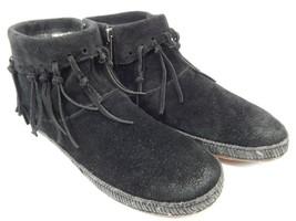 UGG Australia Shenendoah Genuine Shearling Line Ankle Boots Size 7 M (B) EU 38