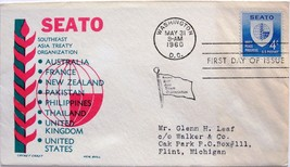 May 31, 1960 First Day of Issue, Ken Boll Cover, SEATO #28 - $2.49