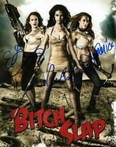 BITCH SLAP CAST SIGNED AUTOGRAPHED RP PHOTO ALL 3 OLIVO - $13.99
