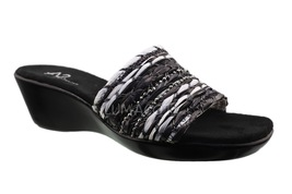 Womens A2 by Aerosoles 'Say Yes' Blk/Wht Combo ... - $29.99