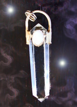 HAUNTED NECKLACE OFFER ONLY OOAK DETECTING LUCK WAND HIGH MAGICK 7 SCHOLAR - $200.00