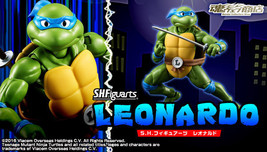 S.H. Figuarts Leonardo - Teenage Mutant Ninja Turtles figure (Premium Ba... - $93.00