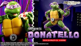 S.H. Figuarts Donatello - Teenage Mutant Ninja Turtles figure (Premium B... - $89.80