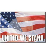 Refrigerator Magnet United We Stand - $3.25