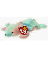SAMMY TY Beanie Baby tie tye dye bear Baseball Sosa Stuffed Toy Stuffie ... - $4.75
