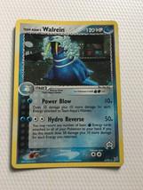 Pokemon Card Team Aqua's Walrein 6/95 Rare HOLO Ex Magma vs Aqua Card Fr... - $4.70