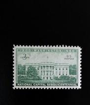 1950 3c Executive Mansion, The White House, Washington Scott 990 Mint F/... - $0.99