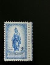 1950 3c Freedom Statue, Capitol Dome Scott 989 Mint F/VF NH - $0.99