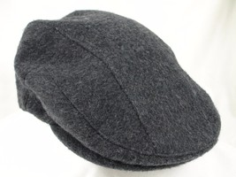 "Orvis Driving Cabbie Newsboy Cap Hat Gray Heather Sz M Fitted 22 1/2"" EUC - $24.99"