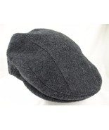 """Orvis Driving Cabbie Newsboy Cap Hat Gray Heather Sz M Fitted 22 1/2"""" EUC - $24.99"""
