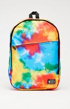MEN'S GUYS NEFF DAILY TIE DYE MULTI COLORED BACKPACK SCHOOL BAG NEW $55 - $44.99