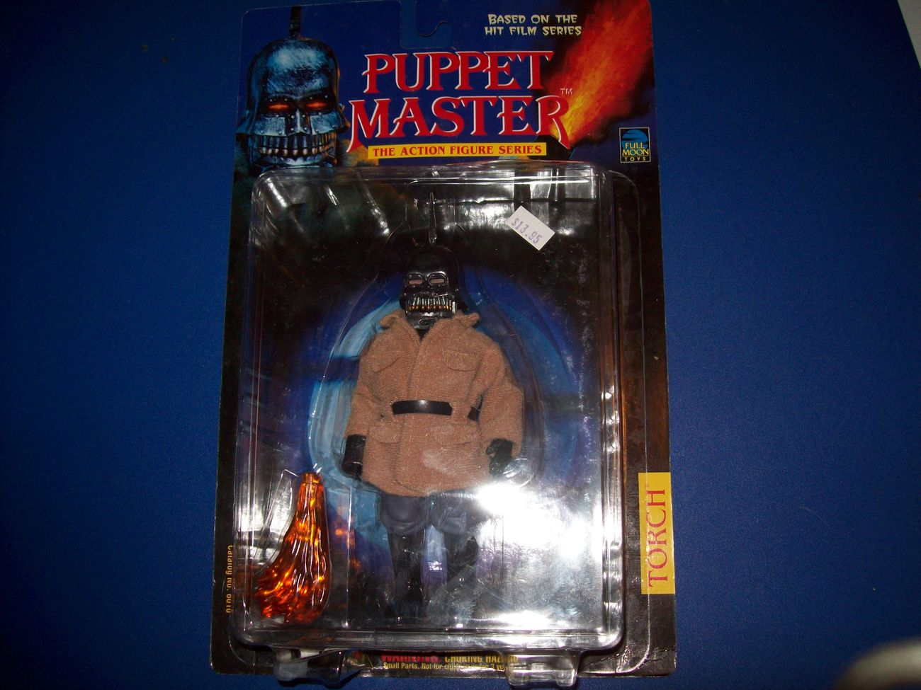 FREE SHIP torch puppet master figure new in box full moon toys open to offers