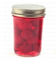 Cherry Scented Gel Jams Candle Jar - €11,22 EUR