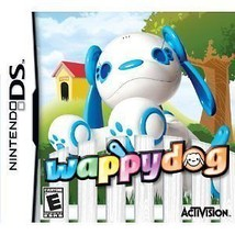 Wappy Dog Nintendo DS Video Game Cartridge & Interactive Puppy Robot Chr... - $23.75