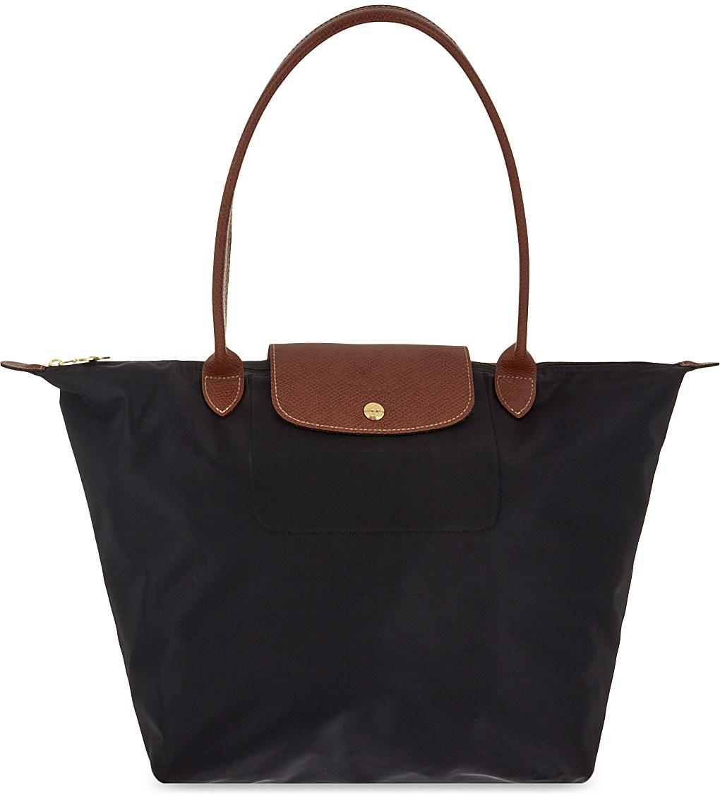 longchamp le pliage large tote shoulder bag handbags purses. Black Bedroom Furniture Sets. Home Design Ideas