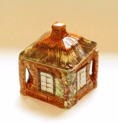PRICE KENSINGTON Vintage Cottage Ware Sugar Covered Jar