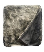 Threshold Hot Coffee Faux Fur Throw Blanket Nwop Soft Warm Cozy Brown - $44.99