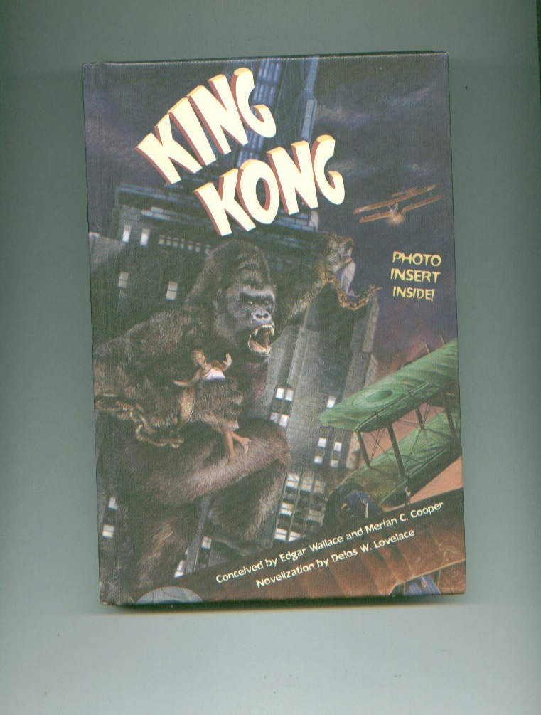 KING KONG hardcover book