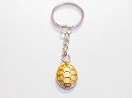 Turtle Shell Keychain 18K Gold - Turtle Gifts -... - $14.00