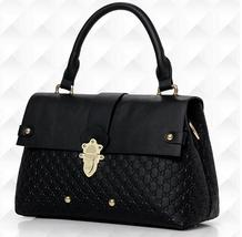 4 Color Women Leather Shoulder Bags Large Fashion Tote Bags ST-551271 - $42.99