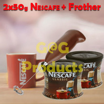 Greek frappe 2x NESCAFE Classic Instant Coffee ... - $19.43