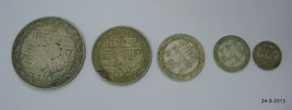 ancient antique collectible old silver coin set from india VTJ EHS - $296.01