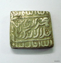 ancient antique collectible old silver mughal coin from india VTJ EHS - $296.01