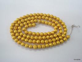 20kt gold beads necklace bracelet elemants 108 pcs. handmade - $1,088.01