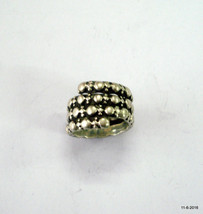 vintage ring antique ring ethnic tribal old silver ring gypsy hippie jew... - $84.15