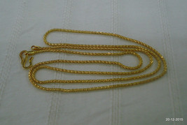 20kt gold chain necklace ethnic gold chain handmade gold chain - $533.61